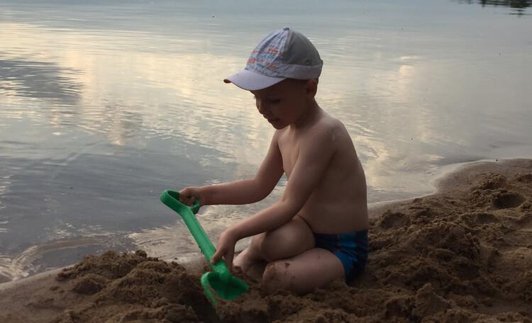 Усадьба «Terrassa», Пляж с золотистым песочком