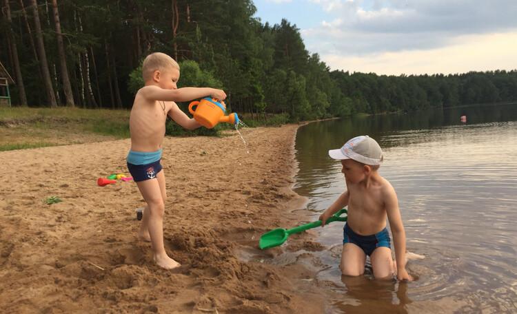 Усадьба «Terrassa», Игра у воды - лучшие детские впечатления!