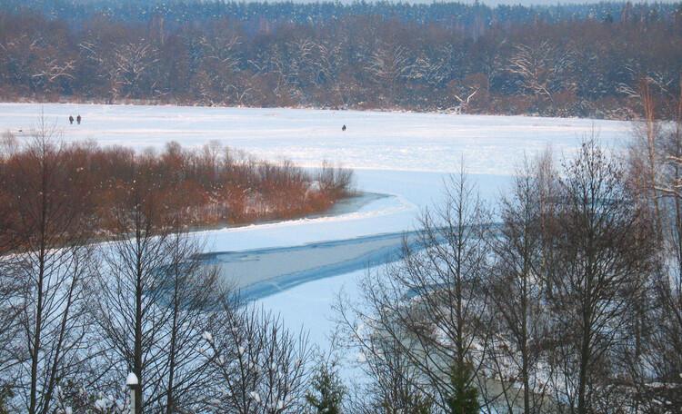 Зимняя рыбалка на Березине