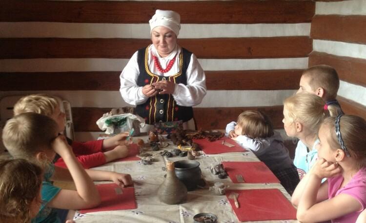 База отдыха «Васпан», мастер-классы: изготовление глиняной свистульки