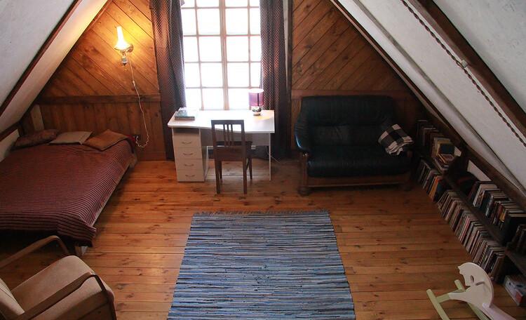 Дом у пруда. Спальня 3 на втором этаже. 25 м2