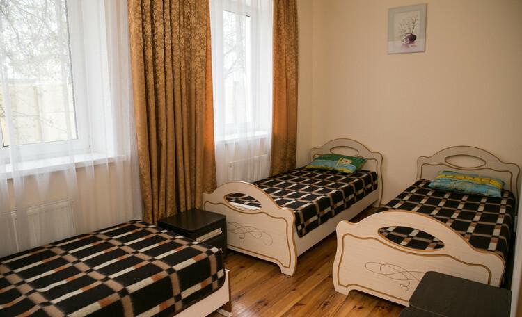 База отдыха «Сутково», Спальная комната в коттедже.