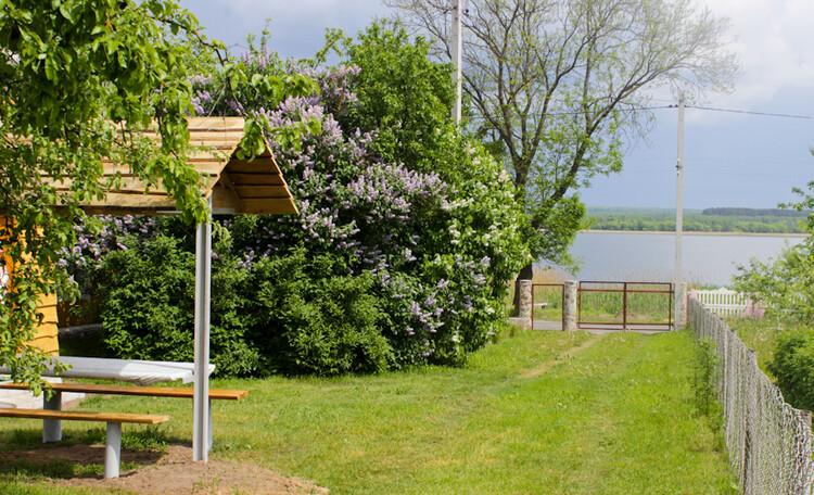 Рай рыбака озеро Свирь | усадьба Набережная, Усадьба Набережная вид на озеро