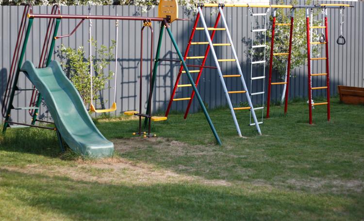 Усадьба «Terrassa», Детская площадка - есть где разгуляться!