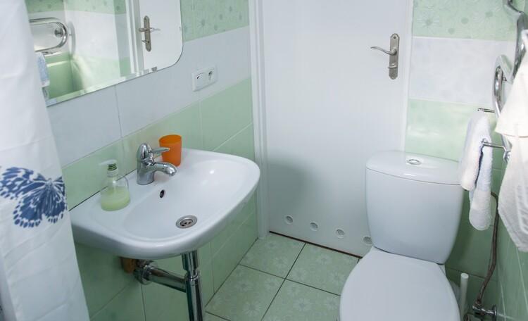 «Паулинка» в Беловежской пуще, второй туалет в доме