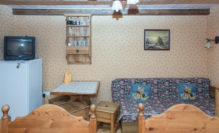 «Паулинка» в Беловежской пуще, комната с отдельным входом