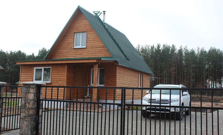 Усадьба «Розета», Деревянный домик Иново