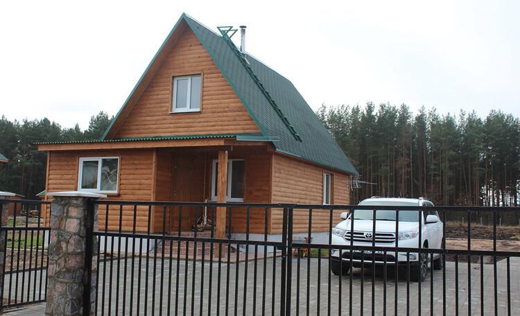 Деревянный домик Иново