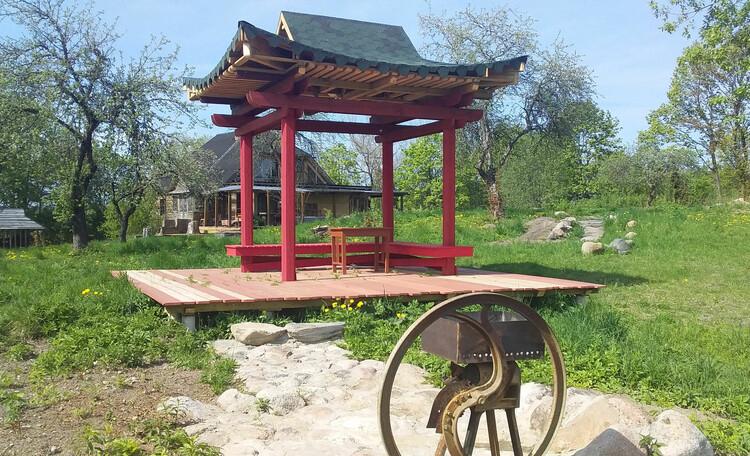 Агроусадьба «Арт-деревня Каптаруны», Китайская беседка. Мангал 1