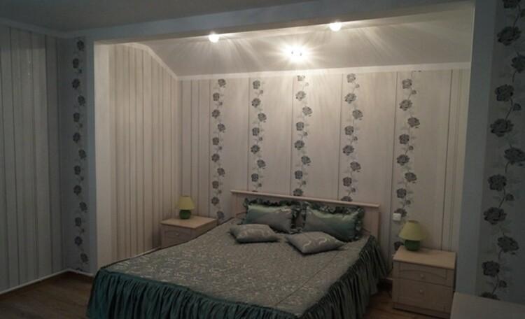 Агроусадьба «Лихолапичи», Спальня с двухспальной кроватью
