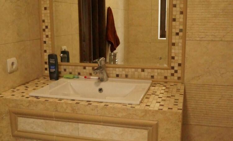 Ezera Park Hotel, Ванная комната в гостевом домике