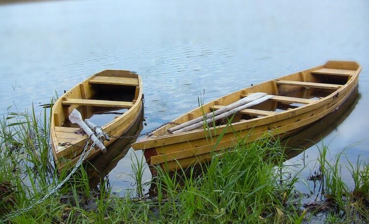 "Stead ""Solnechnyiy ugol"" (""Sunny corner""), Лодки. Усадьба Солнечный угол. Отдых в Беларуси."