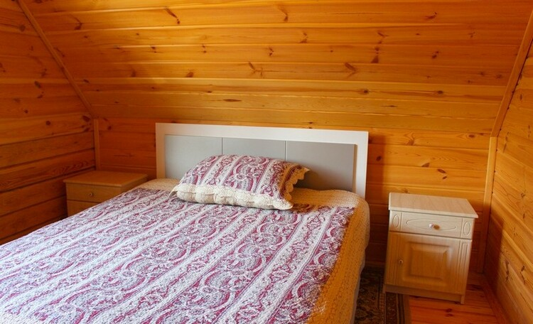 Усадьба «Домики в лесу», дом с баней под Минском