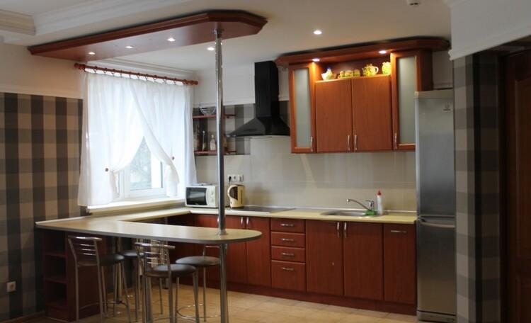 База отдыха «Плещеницы», Люкс 1 с камином - кухня