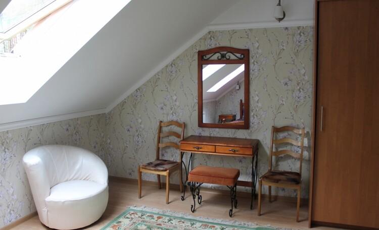 Люкс 1 с камином - спальня