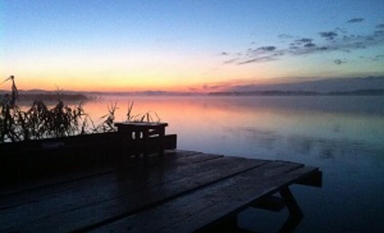 Дом Добрый на озере Струсто
