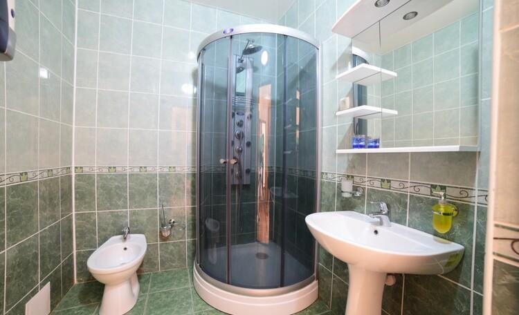 "Recreation centre ""Pleshchenitsy"", Люкс 1 - душевая"