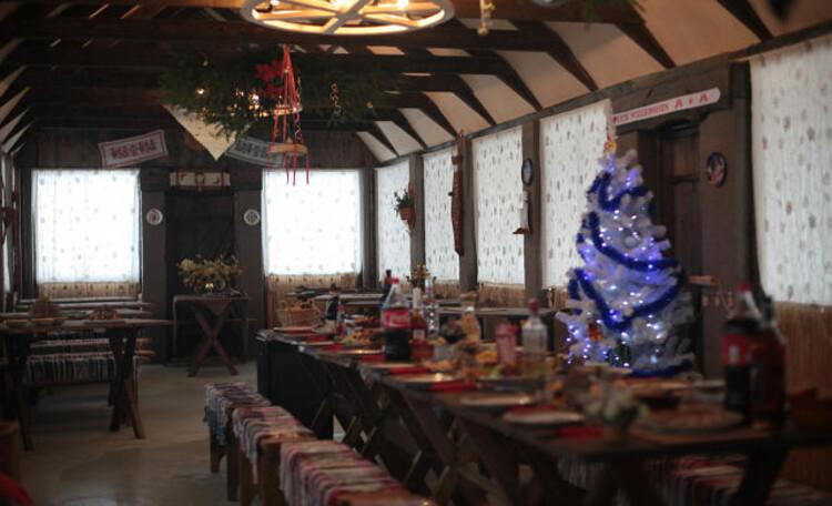 Усадьба Беловежская гостевая в Пуще, Банкетный зал