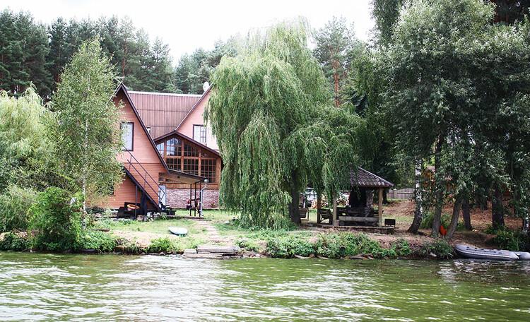 Усадьба «Охотничий стан» на Чигиринском водохранилище
