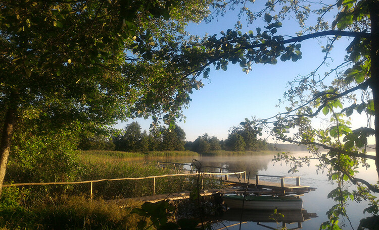 Агроусадьба «Заповедный остров», Природа и озера возле усадьбы «Заповедный остров»