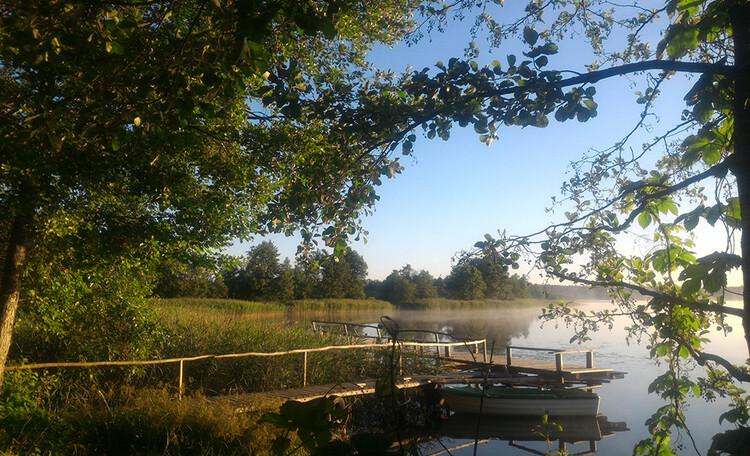 Farmstead «Wildlife island», Природа и озера возле усадьбы «Заповедный остров»