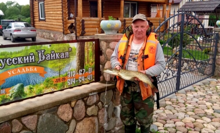 "Farmhouse ""Belorussian Baikal"", Рыбалка в агроусадьбе Белорусский Байкал"