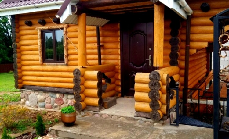 """Farmhouse """"Belorussian Baikal"""", Баня."""