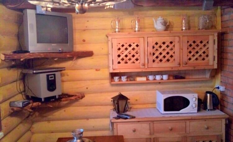 """Farmhouse """"Belorussian Baikal"""", Комната отдыха в бане."""