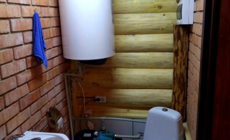"Farmhouse ""Belorussian Baikal"", Санузел в бане."