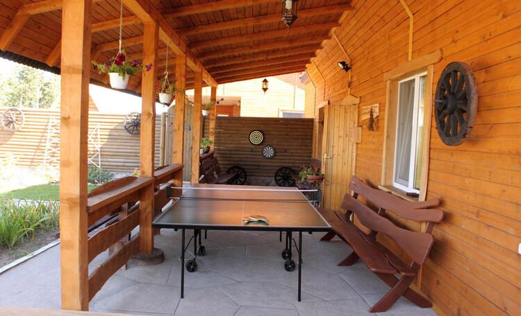 Усадьба «Розета». Теннисный стол