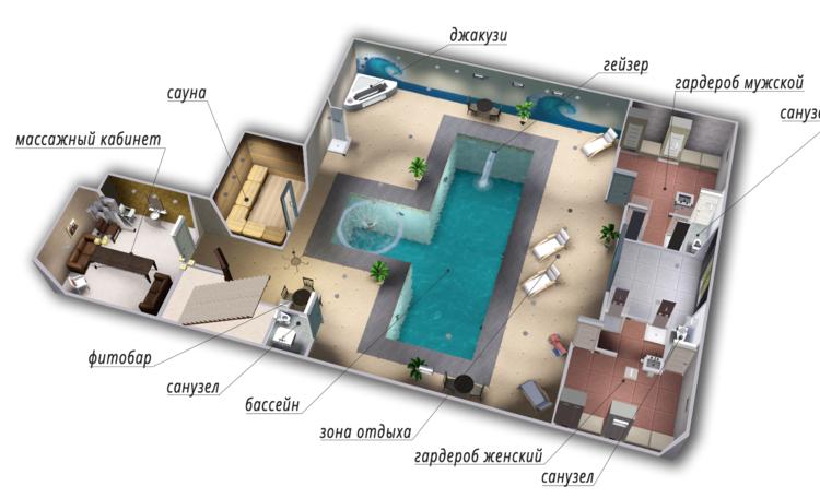 Свободный дом! Новогодняя Программа ведущий бассейн