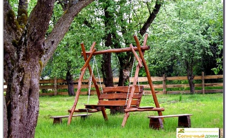 """Усадьба """"Солнечный домик""""  в Беловежской пуще, Одна из зон отдыха в нашей очень просторной усадьбе"""