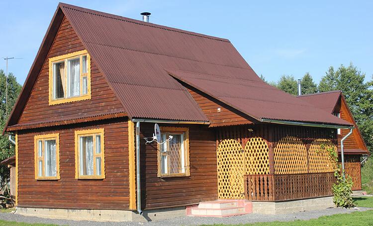 Дом «У затоки», Основной дом