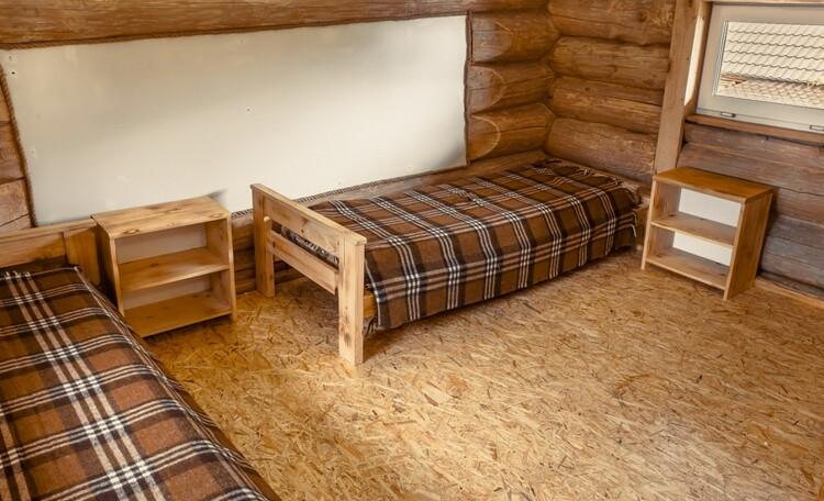 Агроусадьба «Сосновый Берег», домик 1/спальня на 2 чел