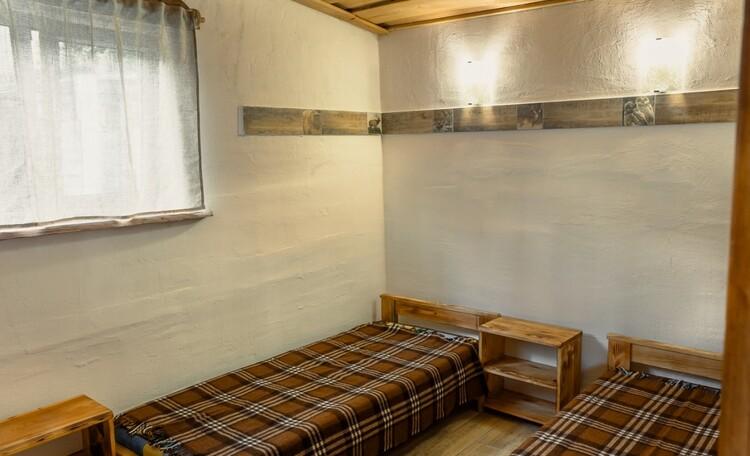 домик 3/спальня