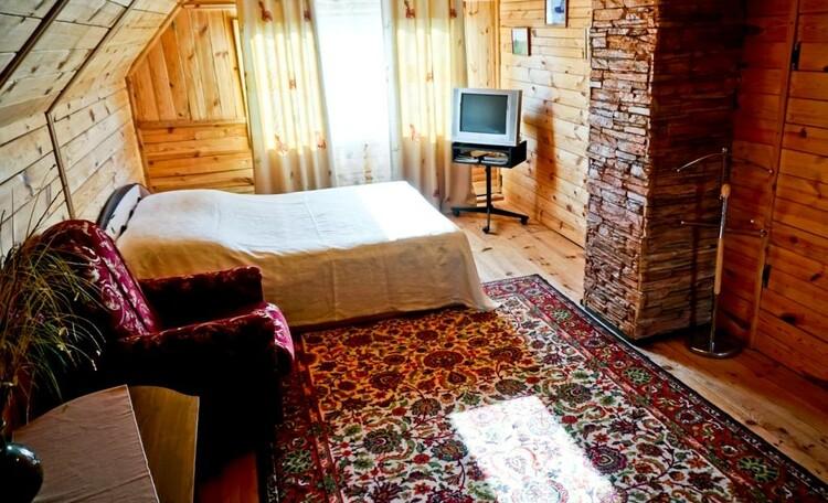 """Farmstead """"Ustie LIFE"""", Летгяя спальня на втором этаже..."""