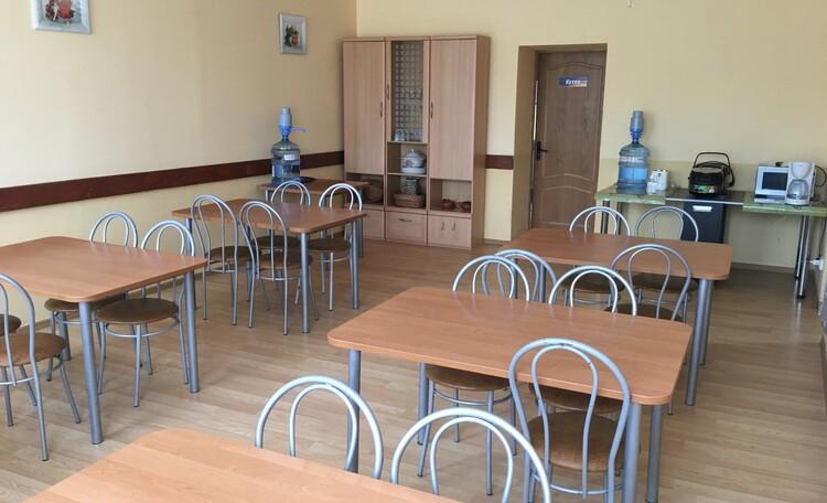База отдыха «Сутково», Банкетный зал на 30 посадочных мест.
