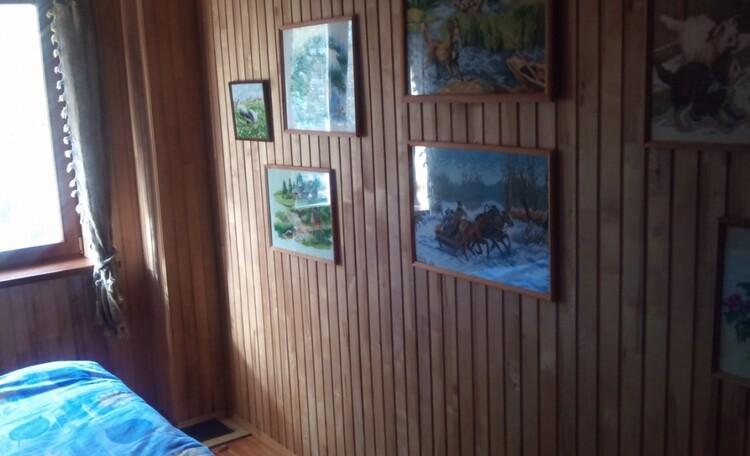 Агроусадьба «Заезд Зубачи», Гостевой дом. Спальная комната