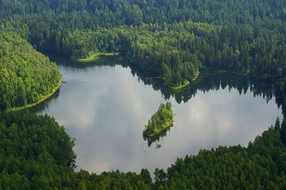 Национальный парк «Нарочанский», Озеро Глубелька