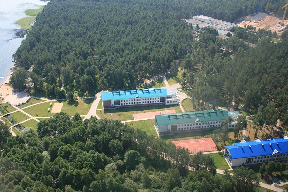 Национальный парк «Нарочанский», Детский оздоровительный лагерь «Зубренок»