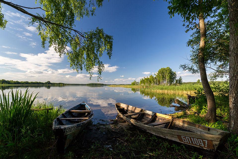 Национальный парк «Браславские озера», Озеро «Струсто» летом.
