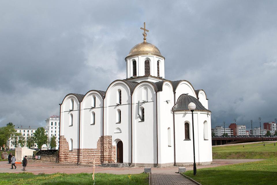 Благовещенская церковь в Витебске, Церковь восстановлена с сохранением фрагментов оригинальной кладки