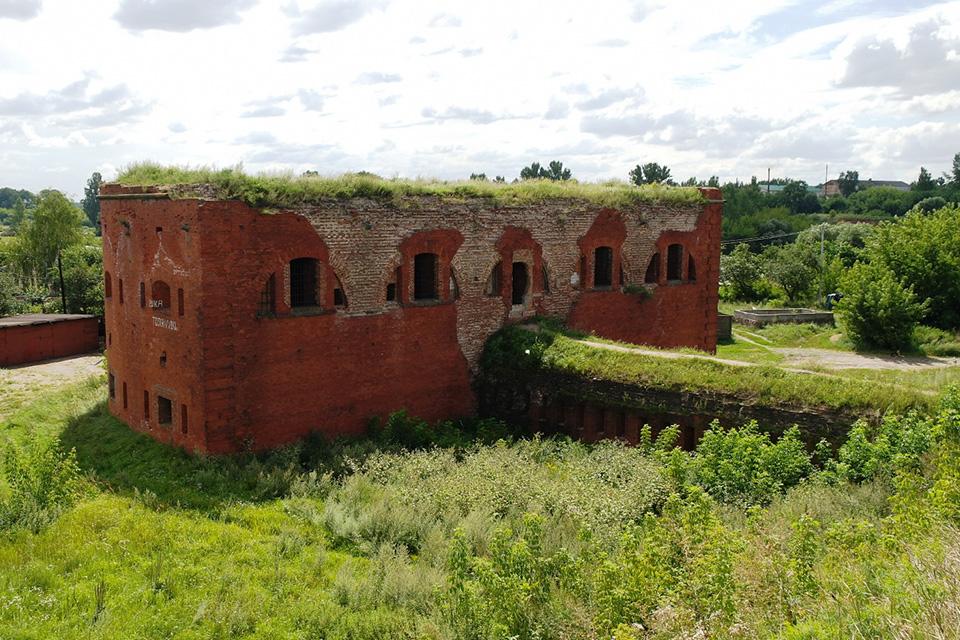 Bobruisk fortress, Редьют, подходящий к порту