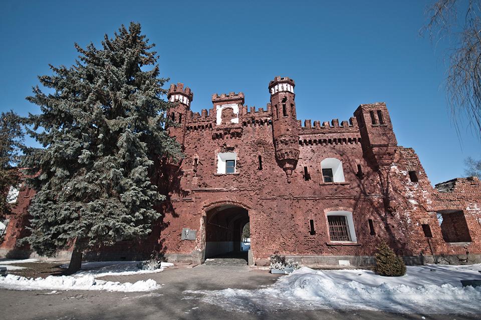 Брестская крепость, Холмские ворота Брестской крепости