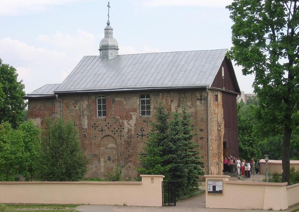 The Church of Boris and Gleb (Kolozhskaya),  Борисоглебская церковь в Гродно