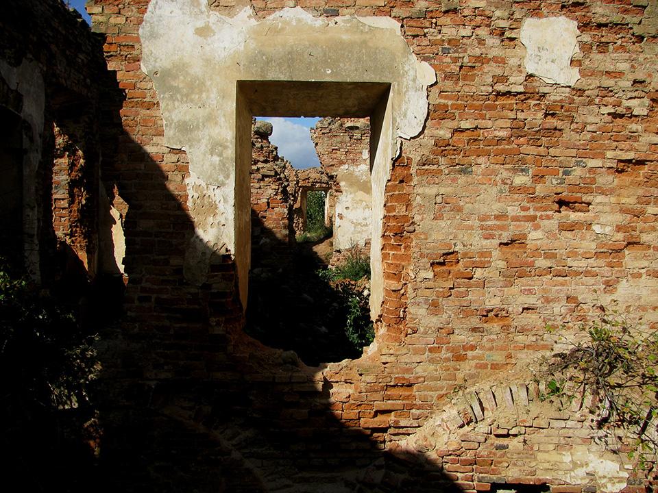 Руины замка Сапег в Гольшанах, Руины Гольшанского замка