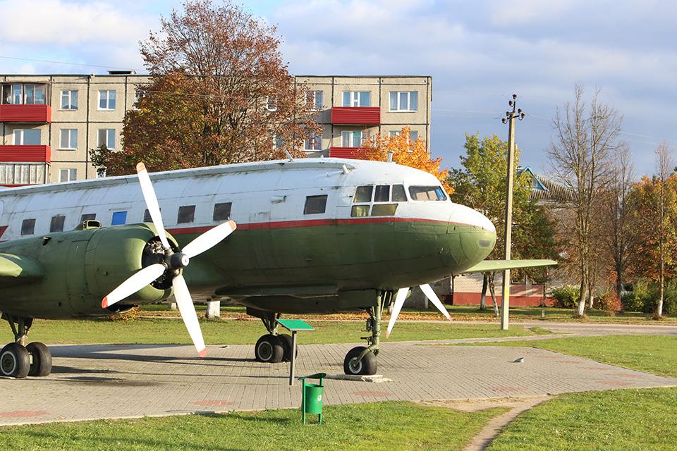 Самолет-памятник партизанскому аэродрому, Самолет-памятник партизанскому аэродрому в Бегомле