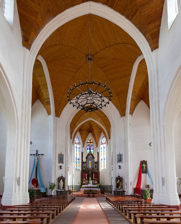 Костел Девы Марии в Видзах, Костел Рождества Девы Марии