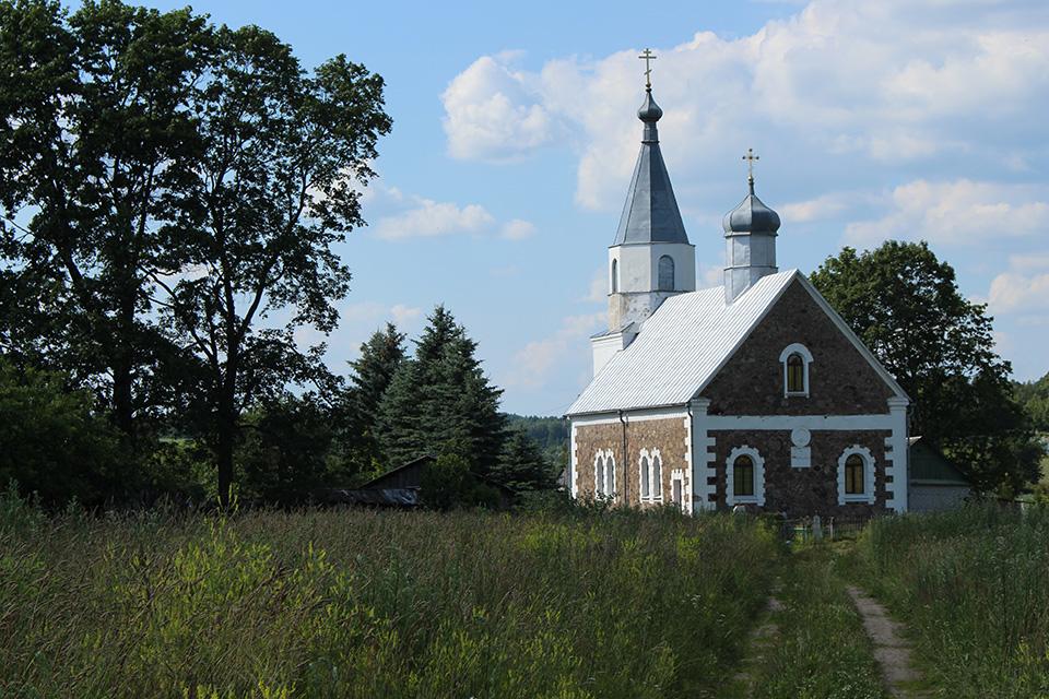 Церковь Святого Александра Невского в Крево, Церковь Святого Александра Невского в Крево