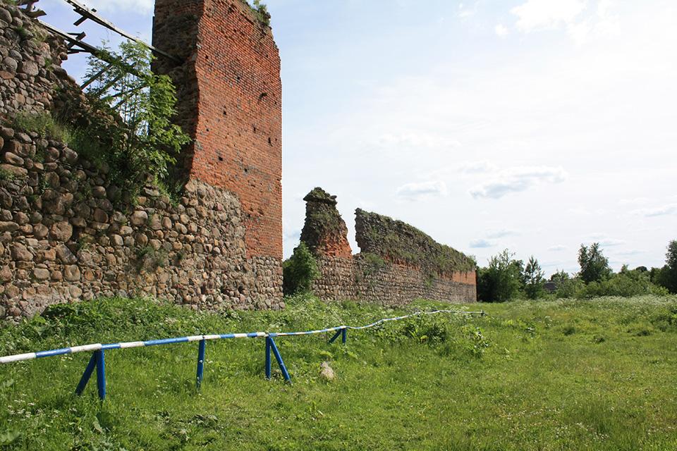 Кревский замок, Руины Кревского замка